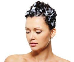 Schaumtönung für graues Haar