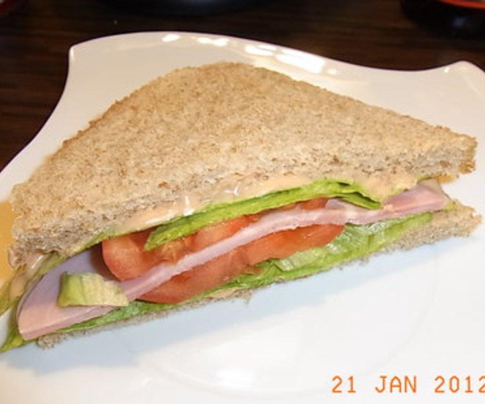 Putenbrust Sandwich