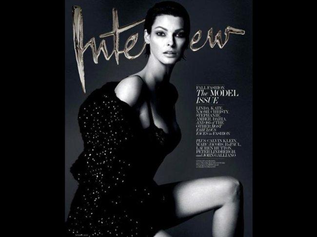 Interview Magazine September 2013 Linda Evangelista