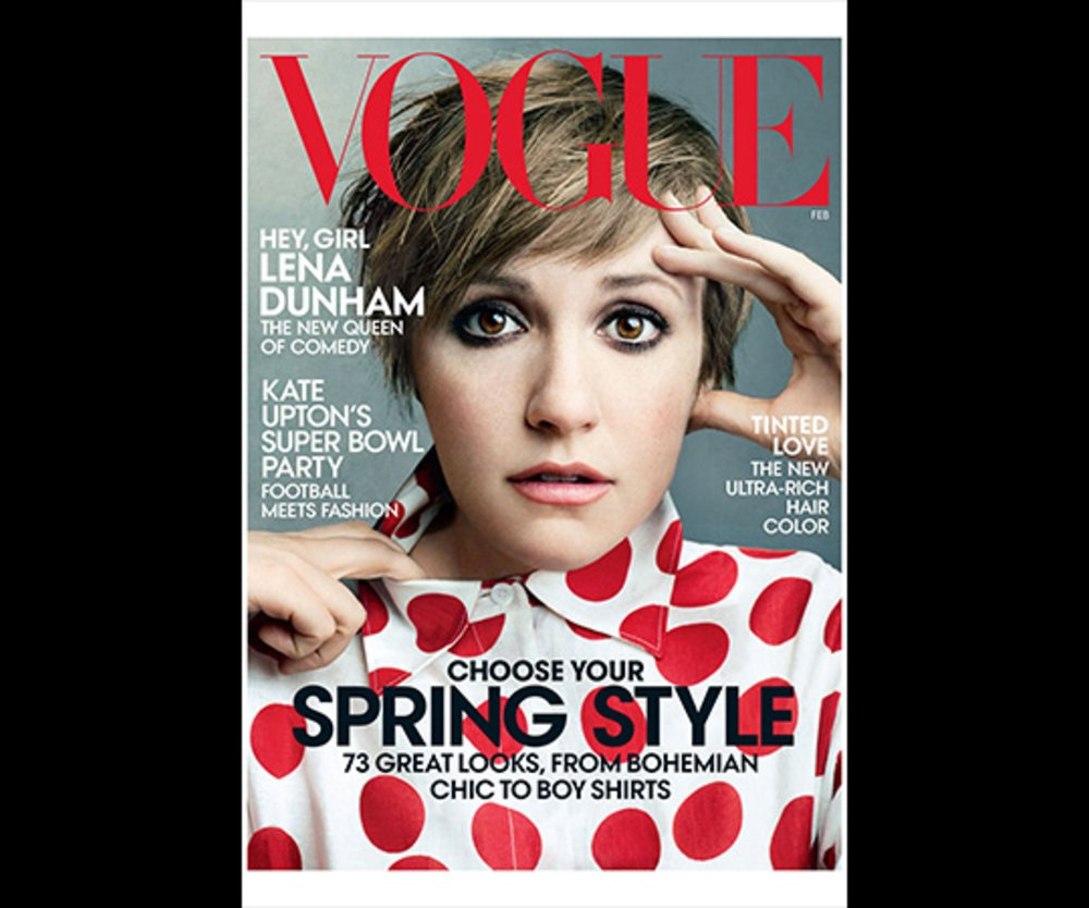 Lena Dunham Vogue