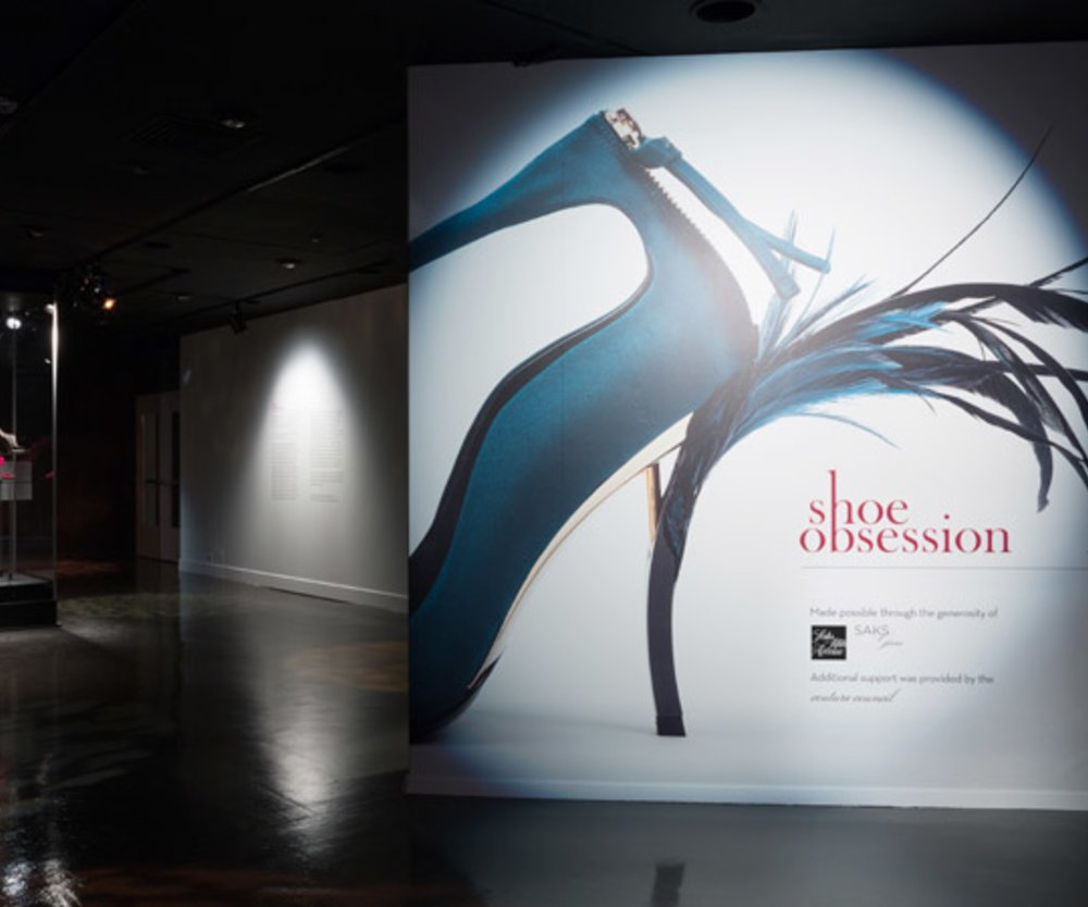 "Ausstellung ""Shoe Obsession"""