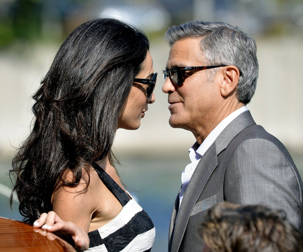 "George Clooney hat ""Ja"" gesagt"