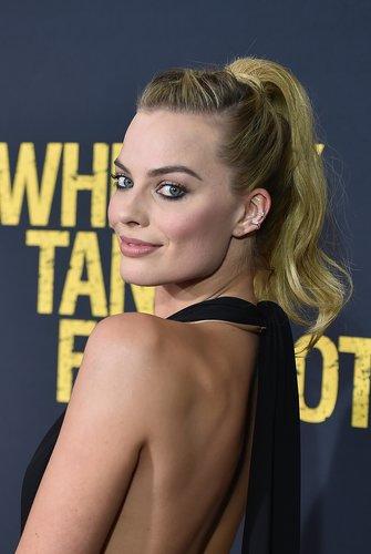 Margot Robbie: High Ponytail