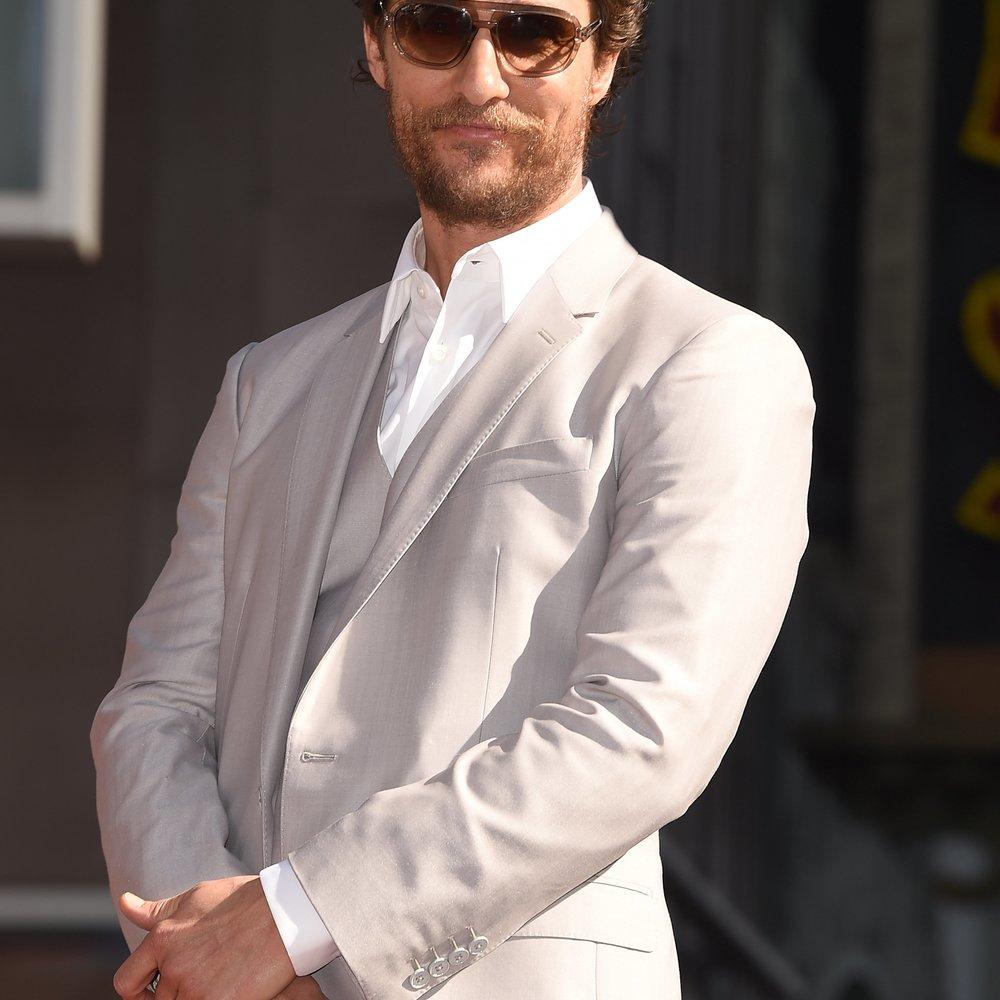 Matthew McConaughey bekommt seinen Stern verliehen