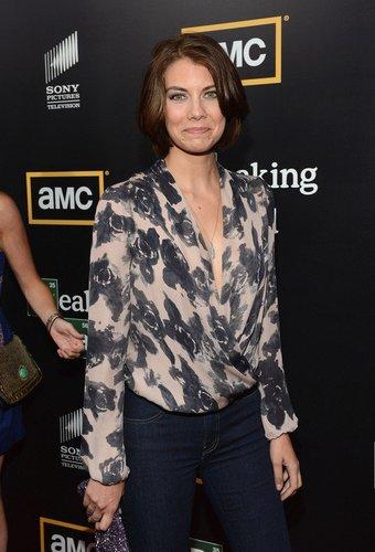 The Walking Dead-Darstellerin Lauren Cohan.