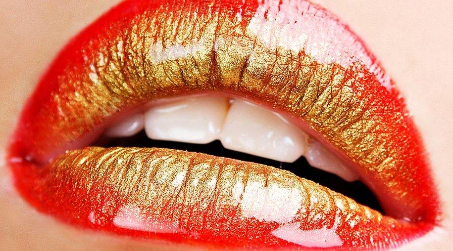 Ombré-Lippen