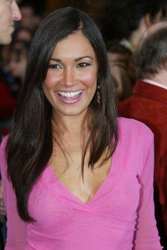 Jana Ina Zarrella posiert 2004 bei der Verleihung des 'Echo'.