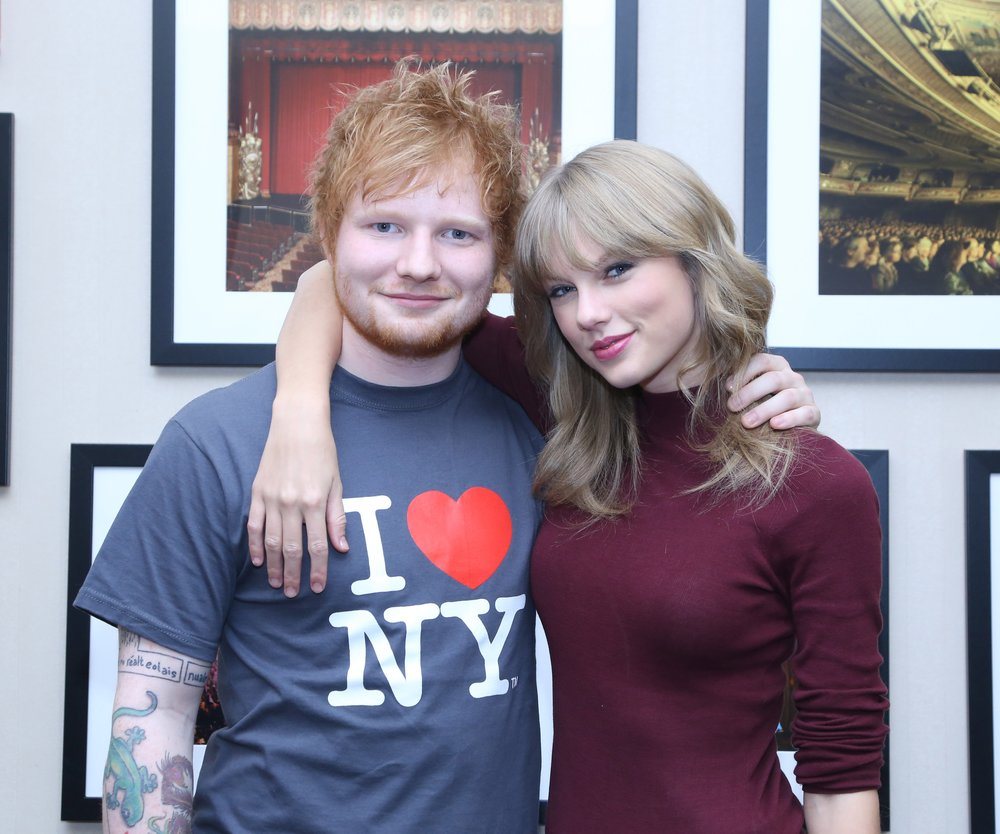 Taylor Swift: Wilde Party mit Ed Sheeran