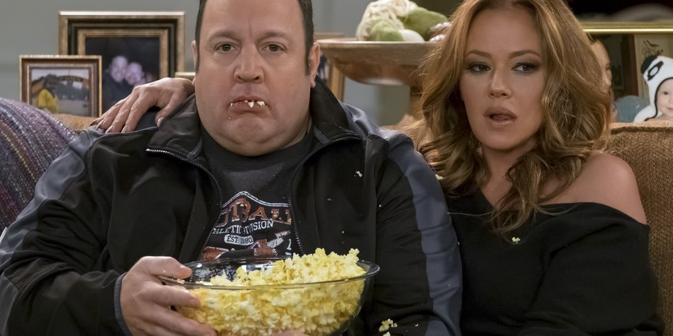 "Wiedervereint: Kevin James und Leah Remini in ""Kevin Can Wait"""