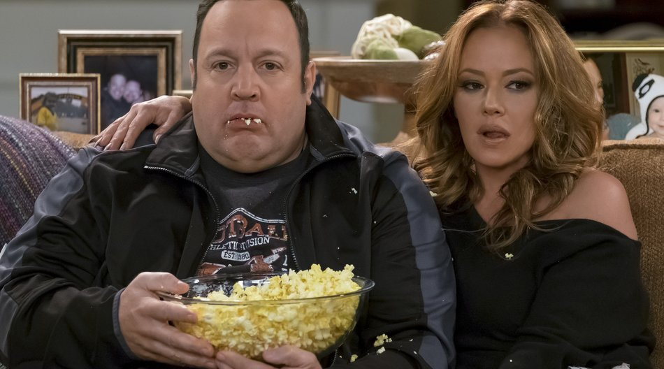 """Wiedervereint: Kevin James und Leah Remini in """"Kevin Can Wait"""""""