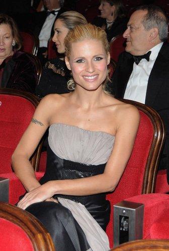Die schweizerische Sängerin Michelle Hunziker
