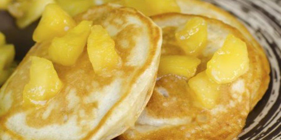 Apfelpfannkuchen einfach