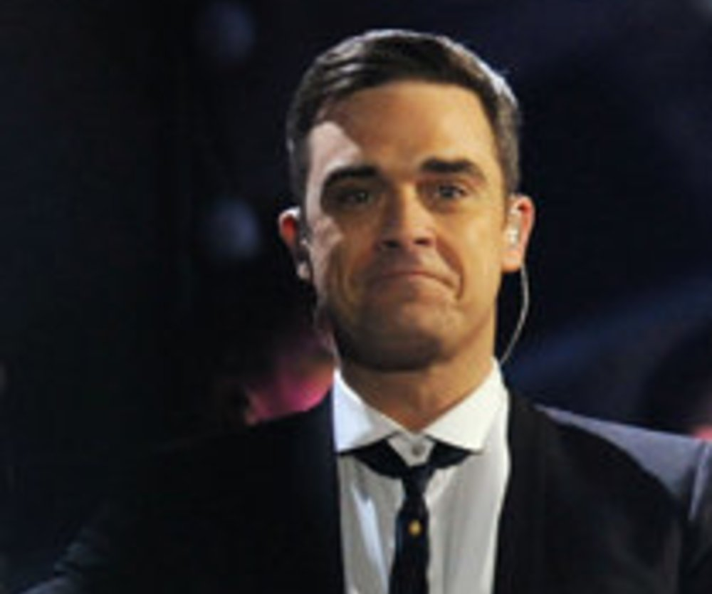 "Robbie Williams spielt ""Folf"""