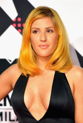 Ellie Goulding: Gelbe Haare