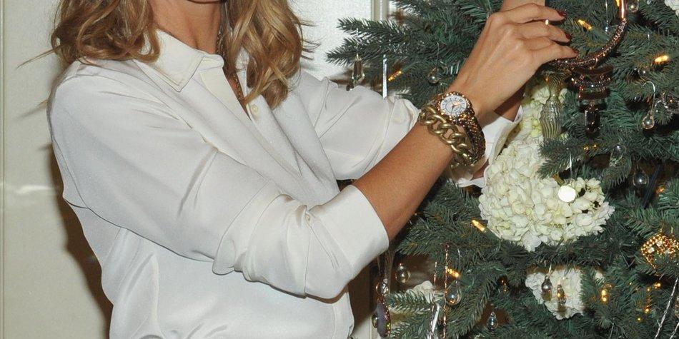 Heidi Klum freut sich auf Weihnachten