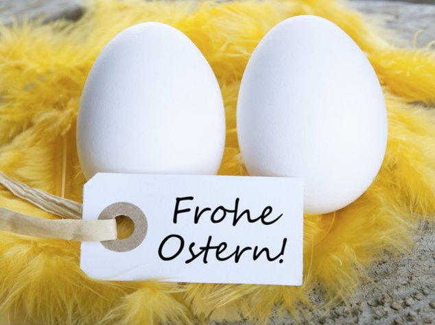 Ostergedichte gehören zu Ostern wie die Eier ins Körbchen