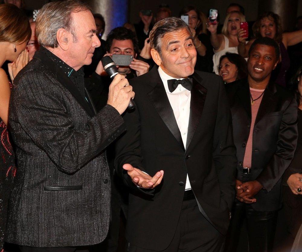 George Clooney vielleicht doch homosexuell?