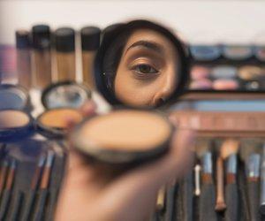 Make-up unreine Haut
