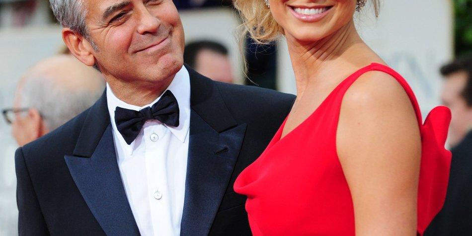 George Clooney: Stacy Keibler verdankt ihm 10 Millionen Dollar!