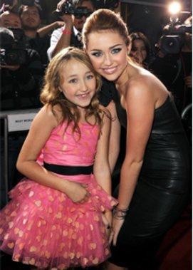 Hannah Montana und ihre kleine Schwester