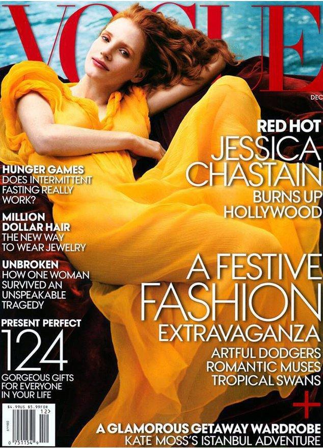 Jessica Chastain ist schüchtern