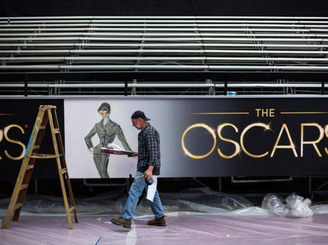 Oscars Vorbereitungen