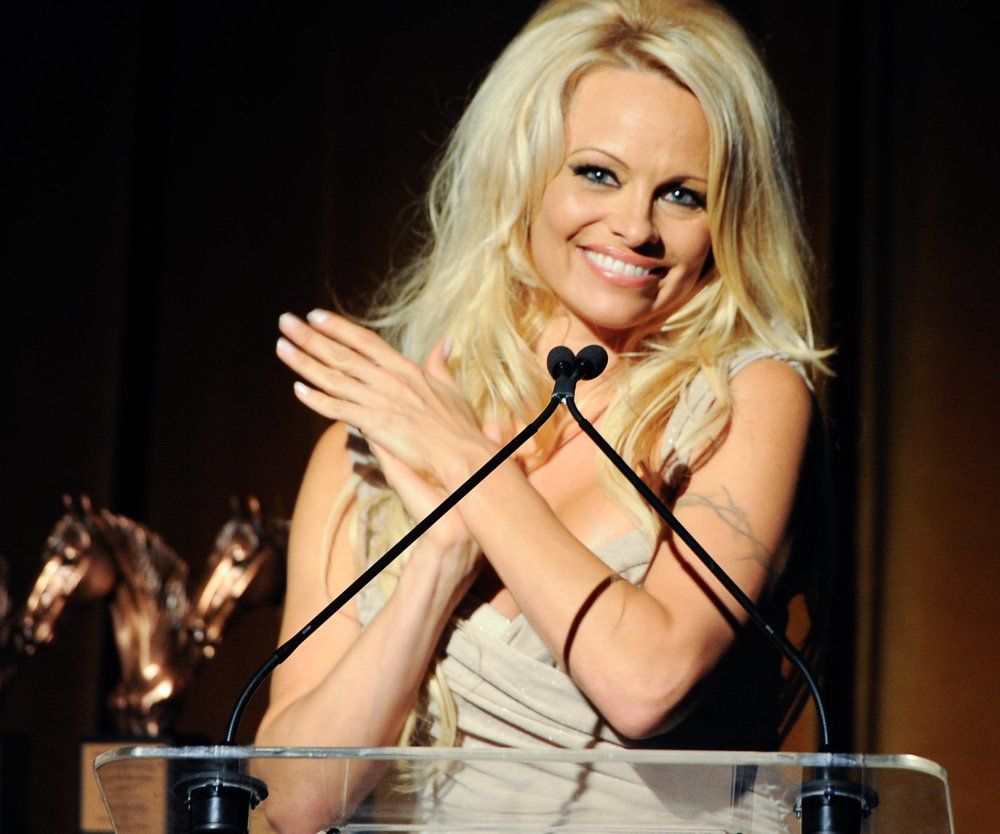 Pamela Anderson hat kein Heimweh dank Skype