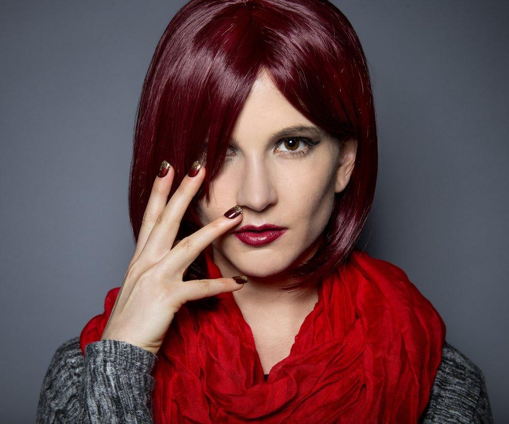Burgundy Haarfarbe