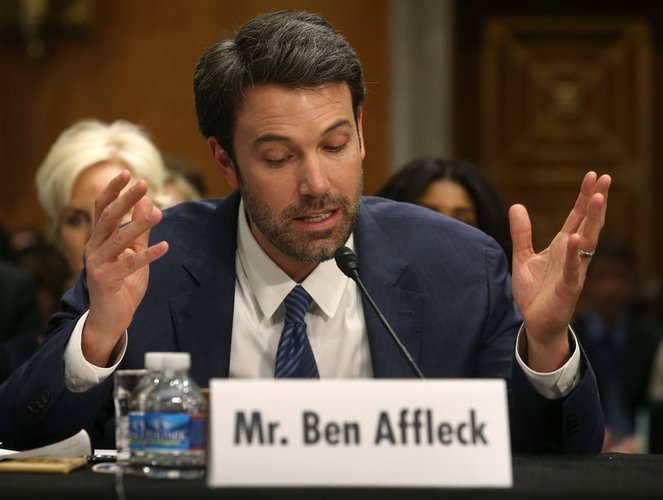 Ben Affleck ist in Washington