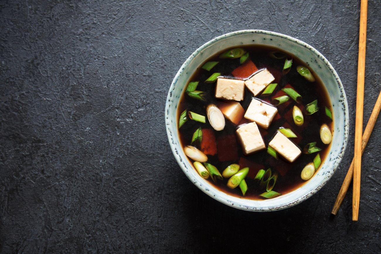 Low Carb Frühstück Miso Suppe