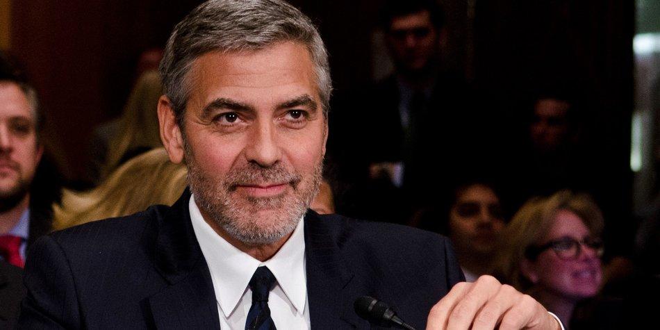 George Clooney könnte Präsident der USA werden