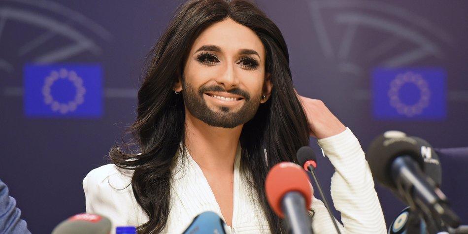 Conchita Wurst auf UN-Mission