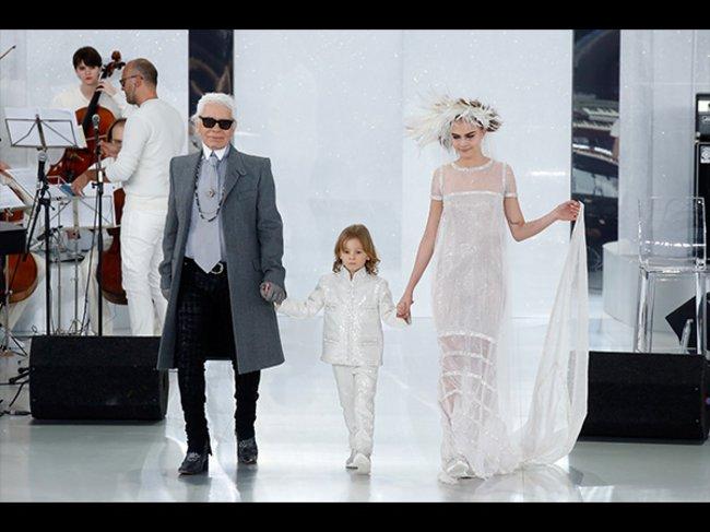 Karl Lagerfeld, Cara Delevingne
