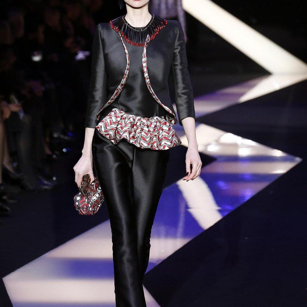 Haute Couture 2013: Armani zwischen Orient und Okzident