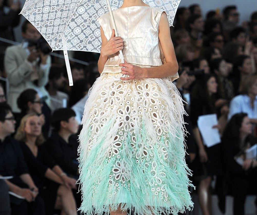 Pariser Chic bei Louis Vuitton