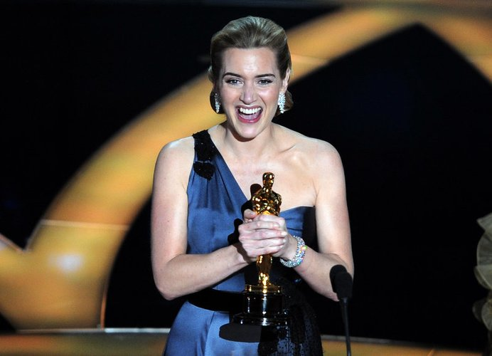 Kate Winslet mit Oscar