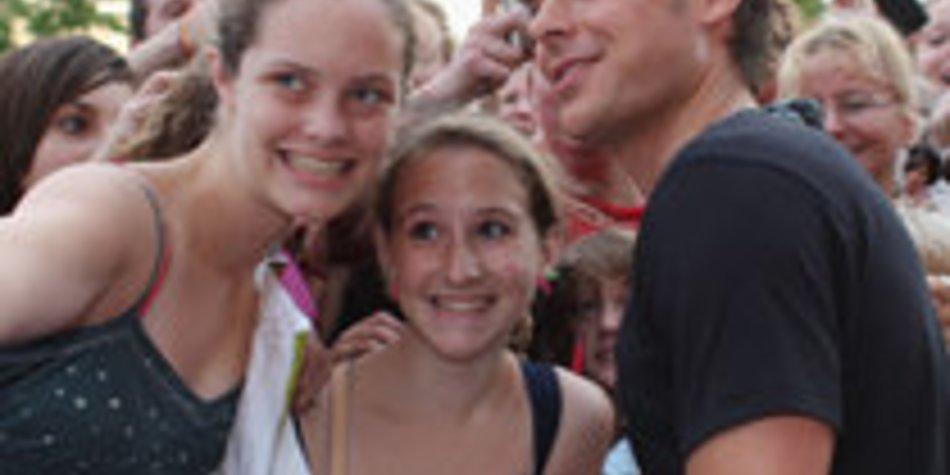 Zac Efron: Bitte Lächeln!