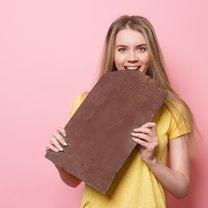 Schokolade schrumpft