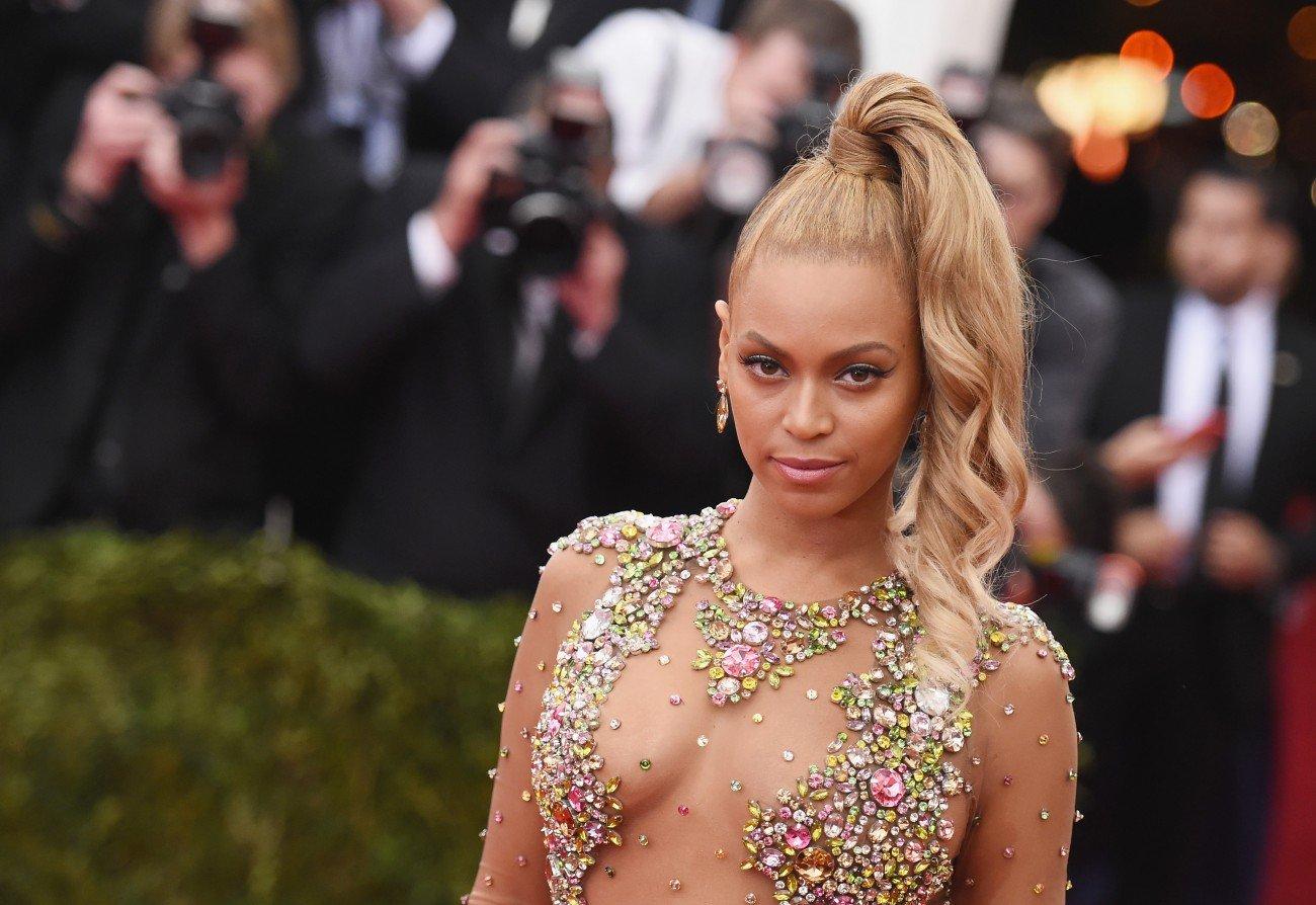 Beyoncé auf dem roten Teppich