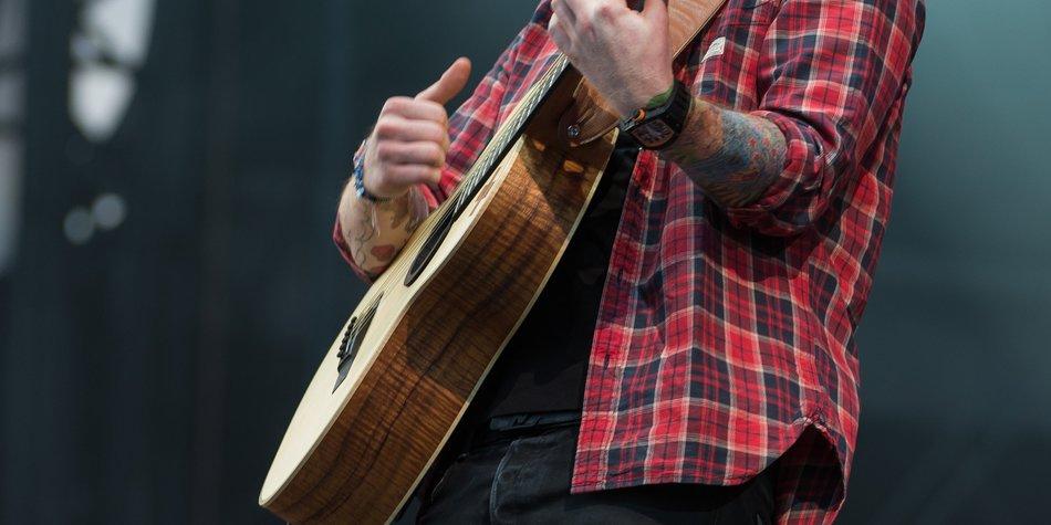 Ed Sheeran macht den Platzanweiser