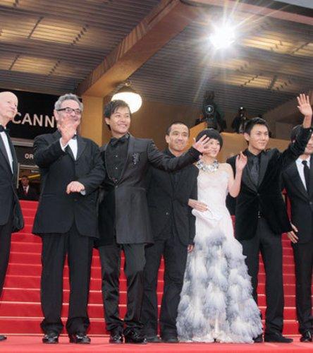 Das Spring Fever Ensemble in Cannes