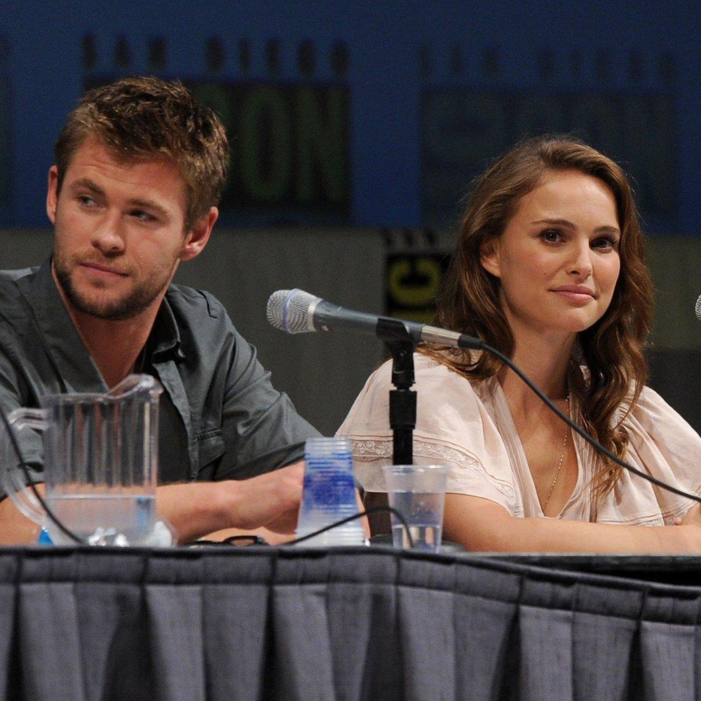 Natalie Portman ist zu klein für Chris Hemsworth