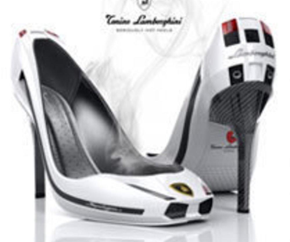 Lamborghini entwirft einen Auto-Schuh