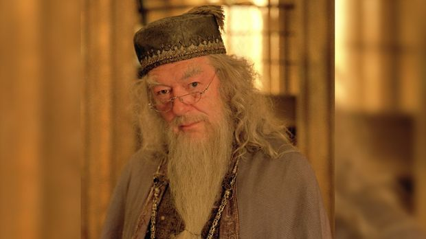 Dumbledore lächelt