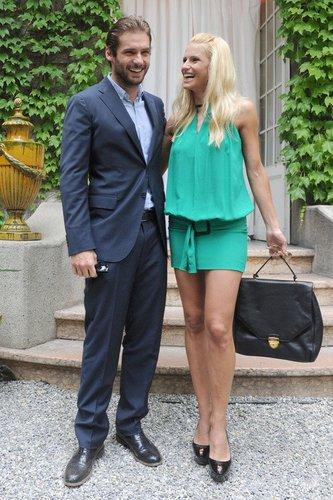 Michelle Hunziker und Tomaso Trussardi.