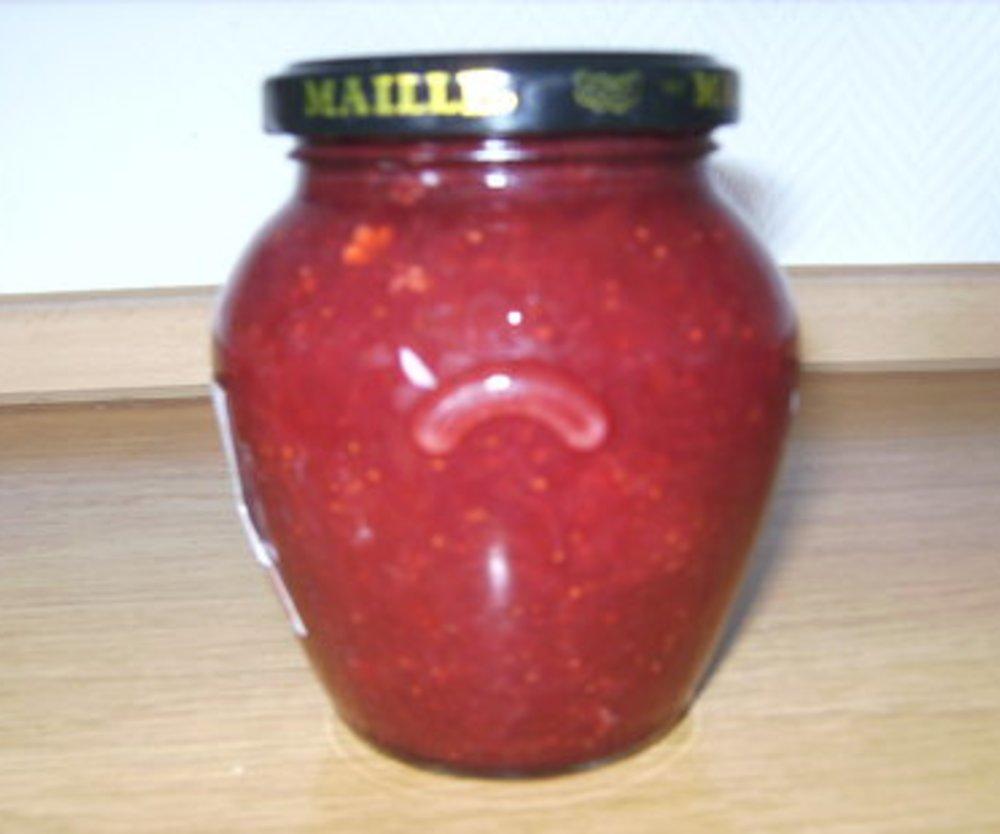 Erdbeer- Rabarbermaemelade