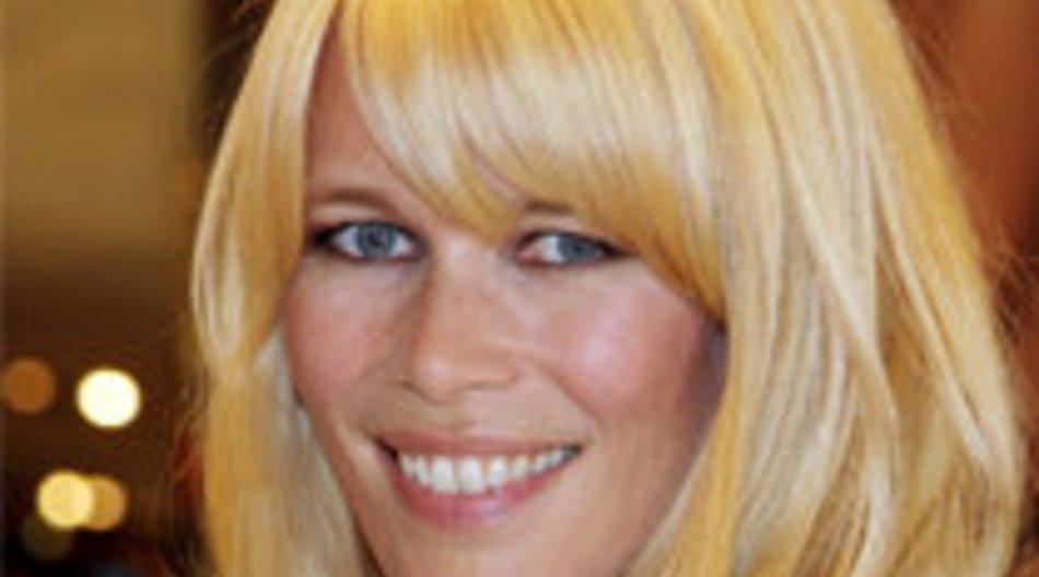 Claudia Schiffer: Mit Top-Figur in Berlin