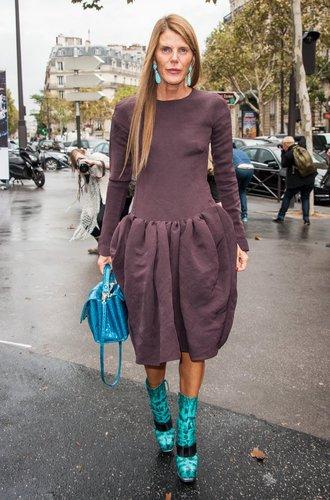 Anna Dello Russo in Paris
