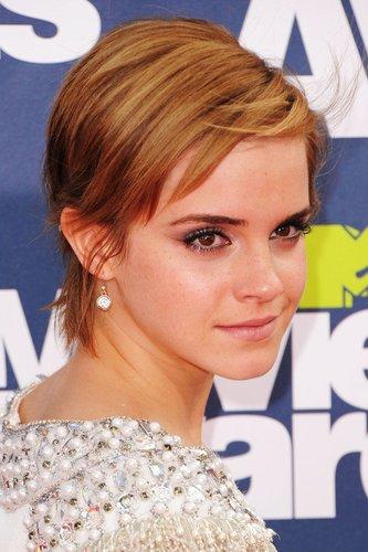 Emma Watson mit Bubikopf