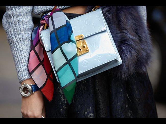 Handtaschen-Trendfarbe
